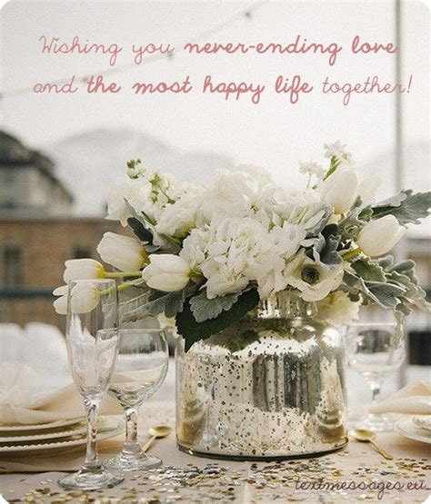 short wedding wishes quotes messages  images