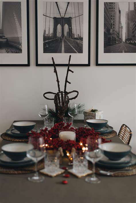 Tischdeko Modern Schlicht tischdeko modern schlicht tischdeko zu weihnachten ideen