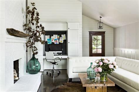 bureau de salon design 42 idées déco de bureau pour votre loft