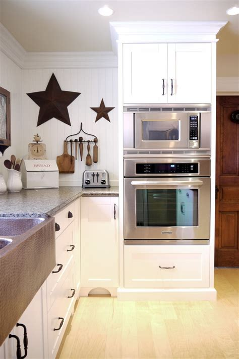 wall mount microwave kitchen farmhouse  appliances