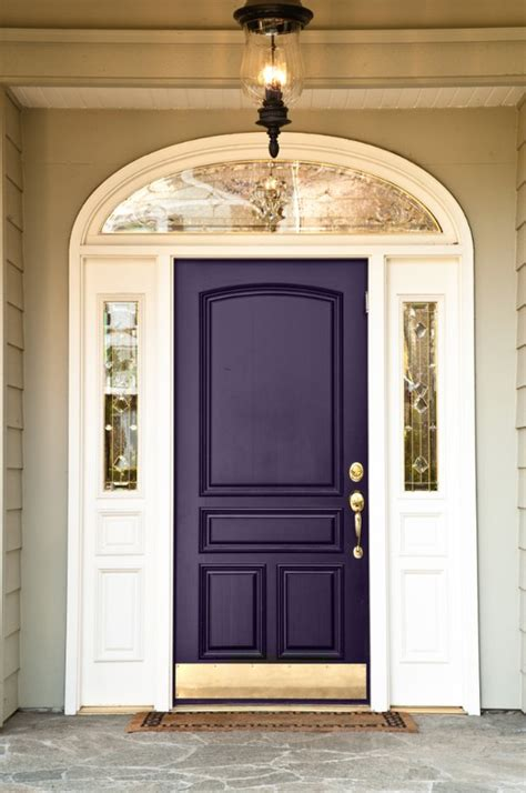 adding a pop of color to your front door megan brooke