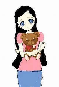 Anime Teddy Bear Girl by creepypasta001 on DeviantArt