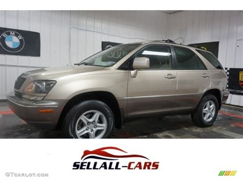 gold lexus rx 1999 burnished gold metallic lexus rx 300 awd 115067420