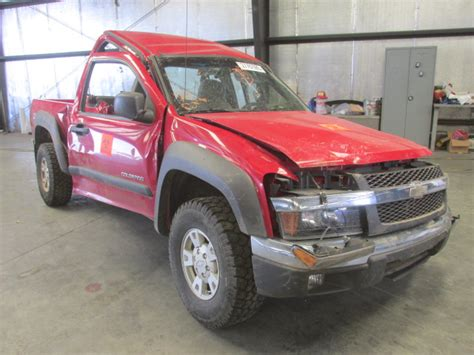 Chevrolet Colorado Parts by Used Parts 2004 Chevrolet Colorado Z71 3 5l V6 Automatic