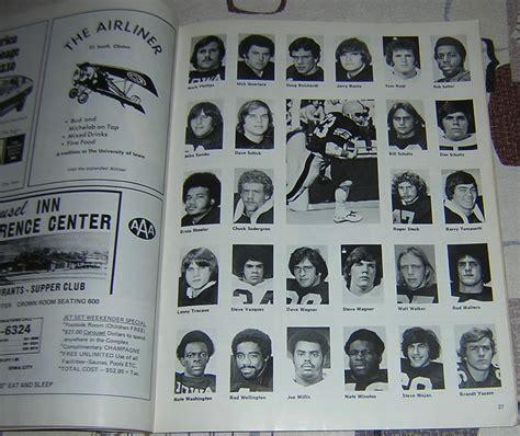 iowa  wisconsin  vintage college football programs