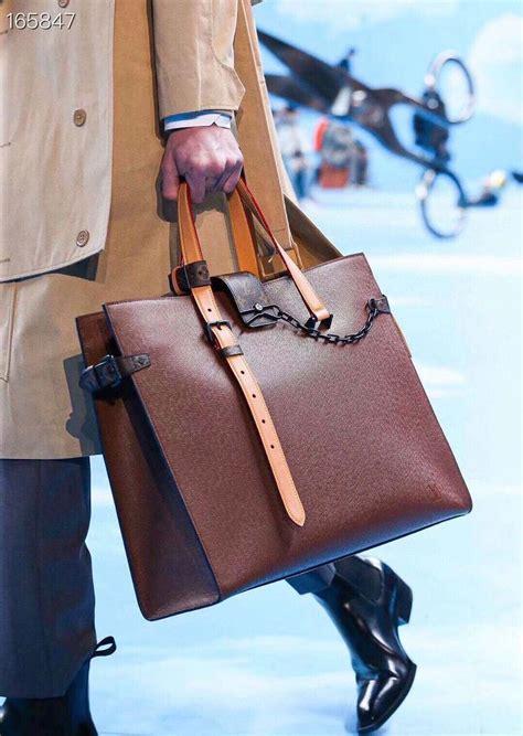 louis vuitton briefcase bag cm epimonogram canvas springsummer  collection  black
