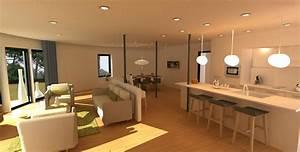 Cuisine Sejour Meme Piece : salon salle manger cuisine dans 30 min 2 s ~ Zukunftsfamilie.com Idées de Décoration