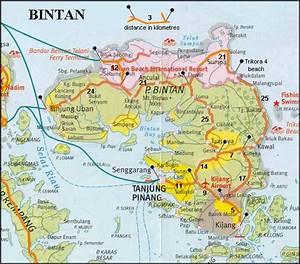 bintan Peta Provinsi Kepulauan Riau