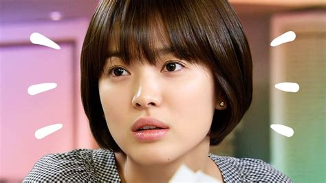 Song Hye Kyo Hairstyle by Song Hye Kyo New Hairstyle Wavy Haircut