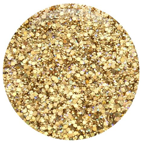 holographic gold glitter mix pixie dust solvent