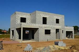 construire sa maison les etapes a respecter With maison en beton coule 5 fondations fondation maison etage les etapes de construction