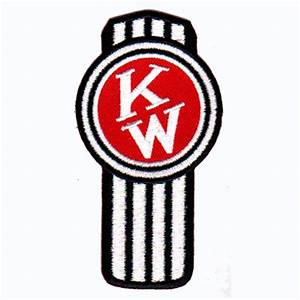 kenworth logo black and white