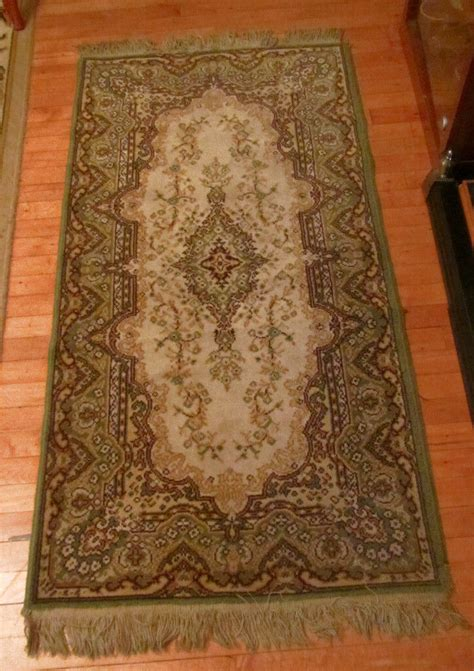 small tassle highly patterned rug cm