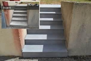 Comment Rénover Un Escalier En Beton by Remplacer Un Escalier R 233 Novation D Escalier Ext 233 Rieur