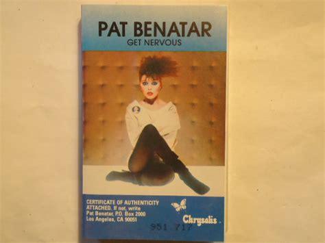 Pat Benatar - Get Nervous (1982, Cassette)   Discogs
