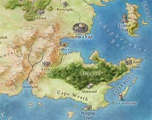At Last, Official Maps of George R.R. Martin's World, From ...