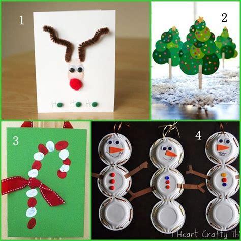 christmas crafts  preschoolers preschool daycare