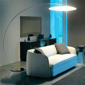 Lampadaire Salon Design : lampadaire salon arc lampe sol lasablonnaise ~ Preciouscoupons.com Idées de Décoration
