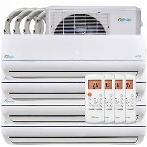 36000btu Quad Zone Ductless Mini Split Air Conditioner