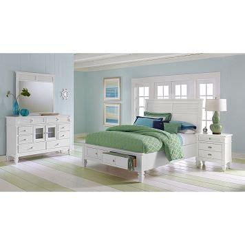 signature furniture charleston bay white ii