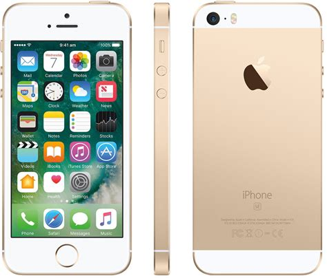 tracfone iphone apple iphone se 16gb smartphone cricket wireless gold