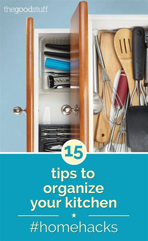 kitchen organization hacks home hacks 15 tips to organize your kitchen home the o 2358