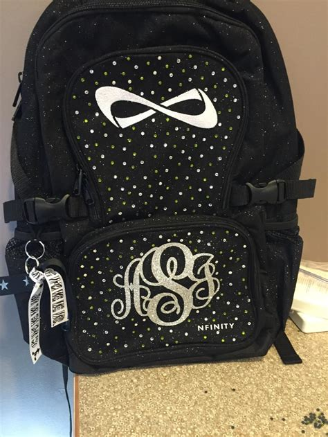 bedazzled nfinity backpacks page  fierce board  voice cheer bag nfinity