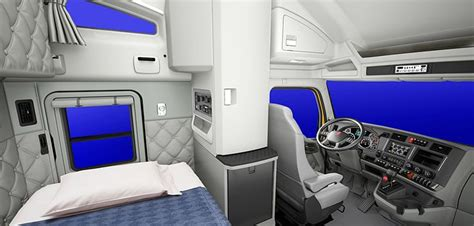 sleeper interior view 45 best images about truck sleepers on semi