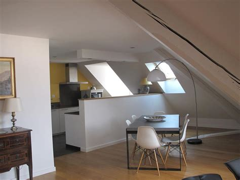 cuisines sold s cuisine ouverte sur le salon salle à manger sous les toits