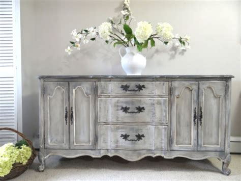 shabby chic grey paint 57 stylish gray shabby chic furniture ideas round decor