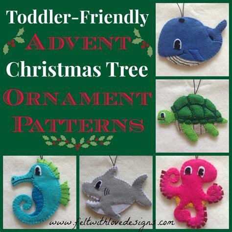 felt toddler friendly advent christmas tree peek at the