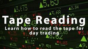 Pure Charts Tape Reading Learn How To Read The Tape For Day Trading