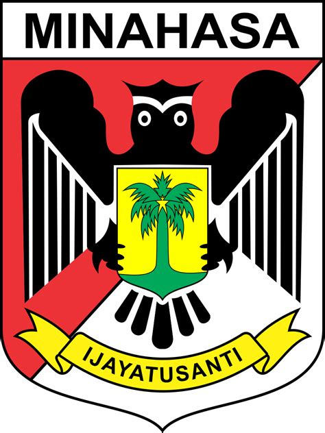 logo kabupaten minahasa vector coreldraw cdr png hd