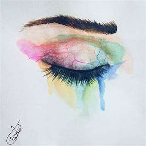 The gallery for --> Crying Eyes Drawing