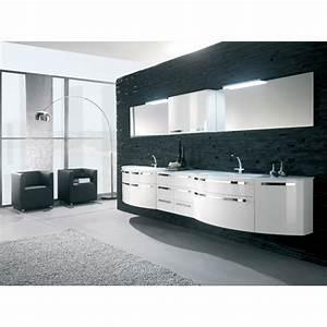 Grand Meuble Salle De Bain : meuble de salle de bain solde ~ Teatrodelosmanantiales.com Idées de Décoration