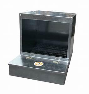 Nid Pour Poulailler : pondoir 1 compartiment 45x33x35cm pour poule ukal ~ Premium-room.com Idées de Décoration