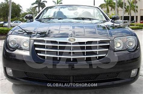 Chrysler Crossfire Grill by Chrysler Crossfire Chrome Grill Custom Grille Grill