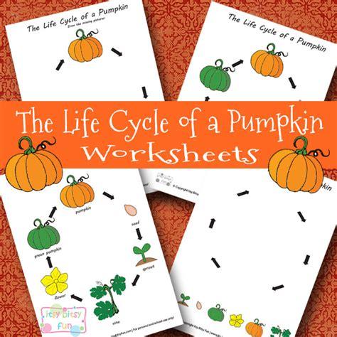 pumpkin life cycle worksheets  homeschool deals
