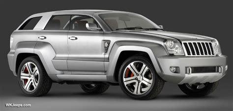 jeep grand cherokee wk jeep trailhawk concept
