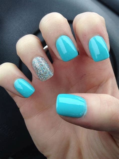 light blue nails 40 blue nail ideas for creative juice