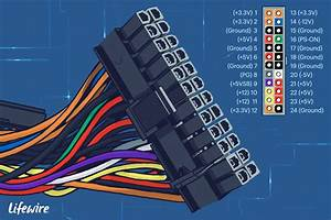 24 Pin Motherboard Power Connector Pinout