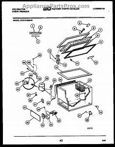 Parts For Frigidaire Cfs101sm2w  Chest Freezer Parts