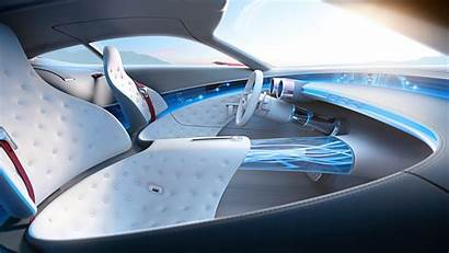 Interior Maybach Mercedes Vision Wallpapers Benz