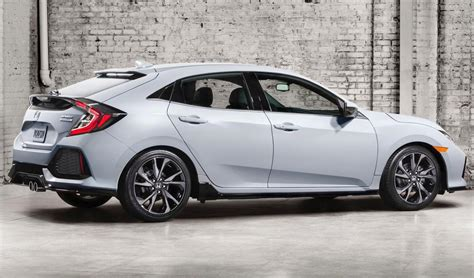 Hatchback Joins Honda's 2017 Civic Lineup Cars