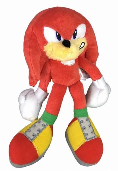 Knuckles Plush Sonic Hedgehog Toy Angry Inch