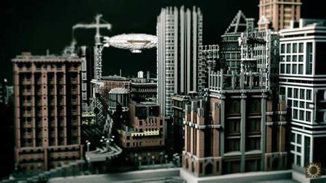 gotham city batman minecraft building