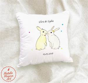 Cute Gifts For Girlfriend Bunny Cushion Cotton Rabbit Gift