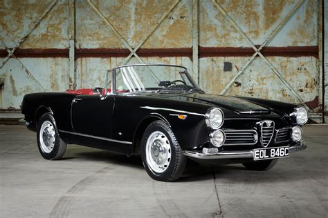 Alfa Romeo 2600 Spider by 1964 Alfa Romeo 2600 Spider 187 Pendine Historic Cars