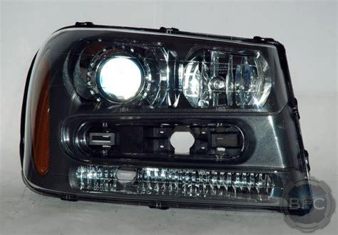 trailblazer headlight package hid 2005 retrofit chevy blackflamecustoms headlights projector