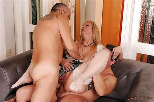 British Old Double Penetrated #Big #Busted #Mature #Blonde #Is #Into #Groupsex #With #Double